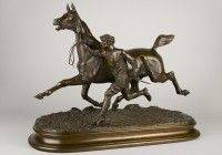 Comte duPassage, Trotting Horse and Groom